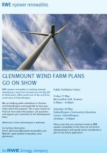 Glenmount exhibition poster