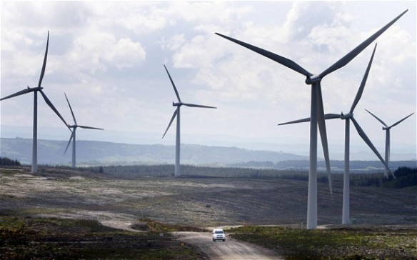 Scotland's wild beauty 'being lost to turbines'