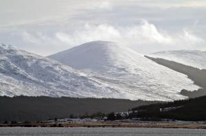 Knockower from Loch Doon, photo Dave Hancox
