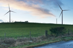 2 Turbines at Knockshinnoch