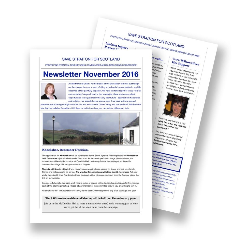 SSfS Newsletter Nov16.pages